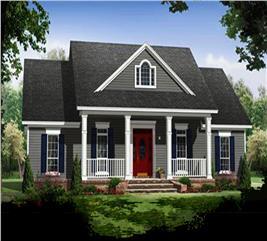 House Plan #141-1243