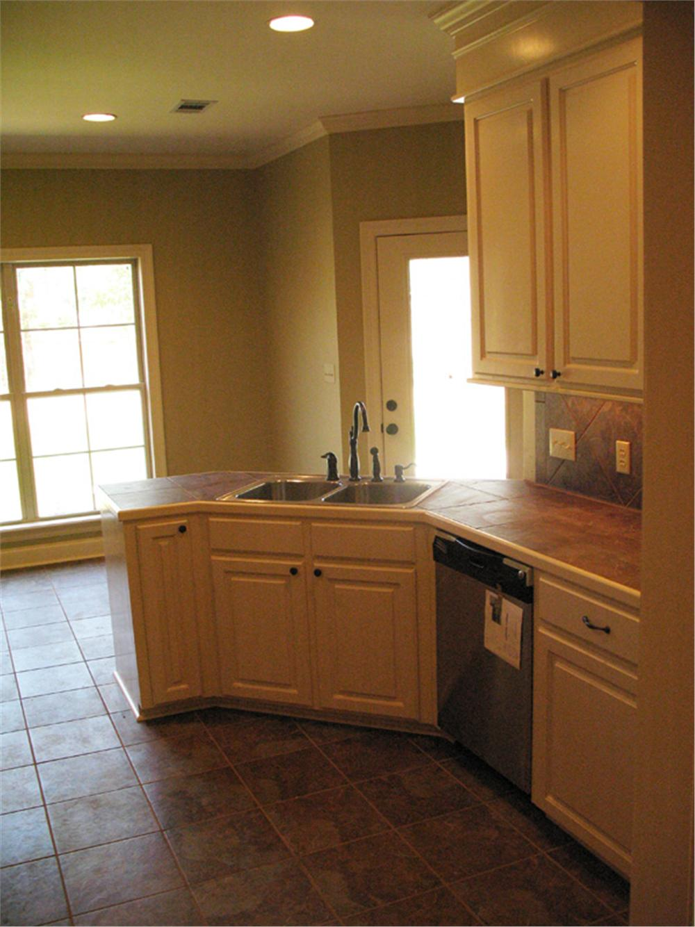 141-1244 house plan kitchen view 2