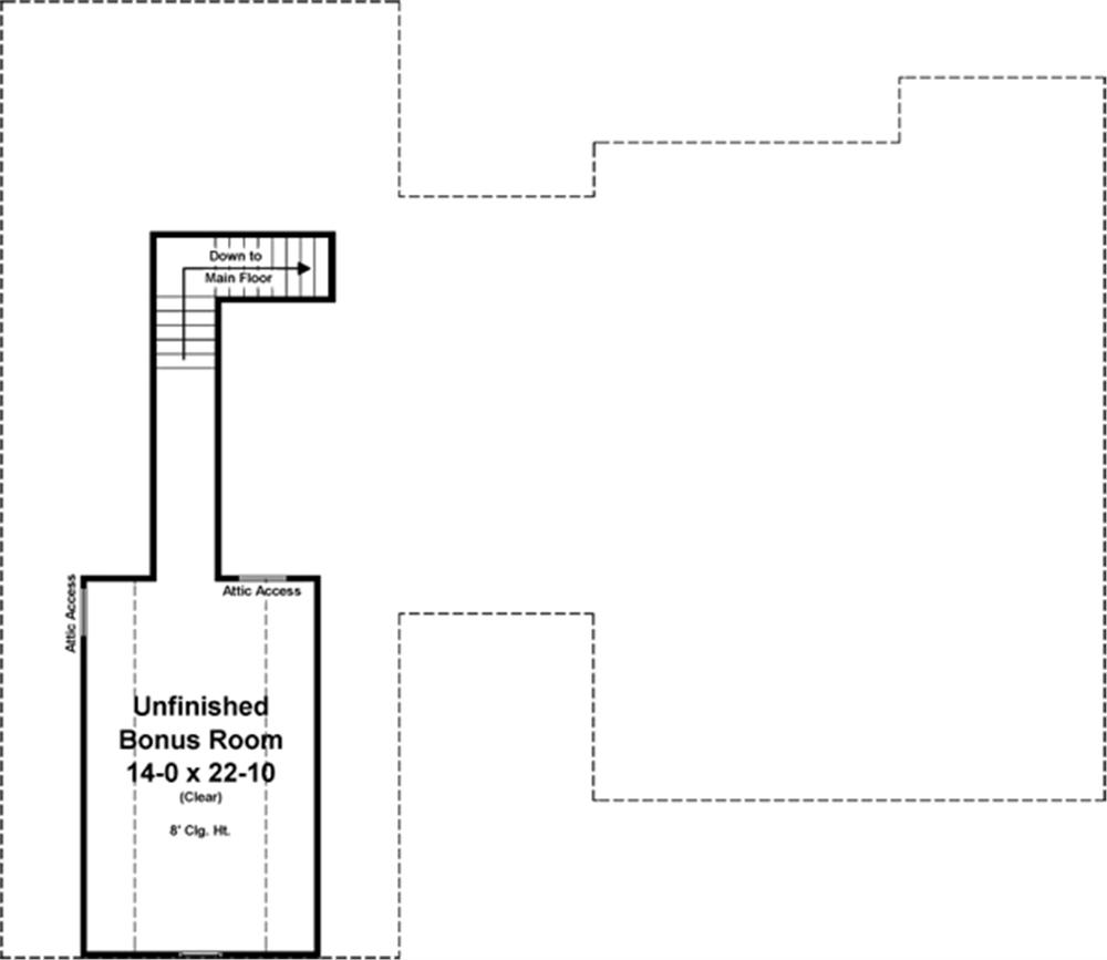 141-1247 house plan bonus floor