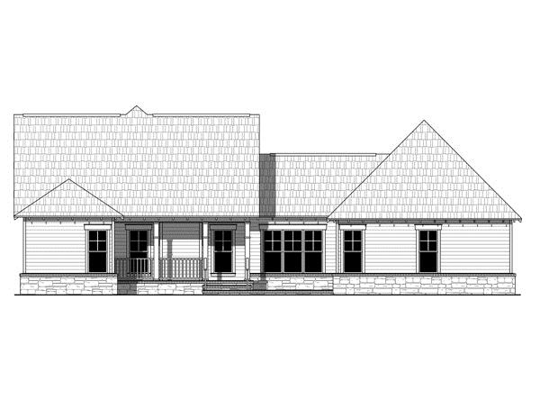 141-1247 house plan rear
