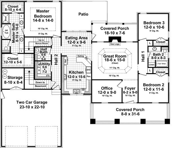 141-1247: Floor Plan Main Level
