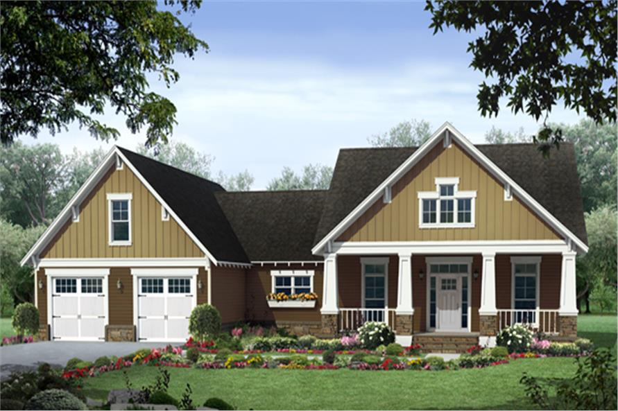 House Plan 141 1247 3 Bedroom 1940 Sq Ft Craftsman