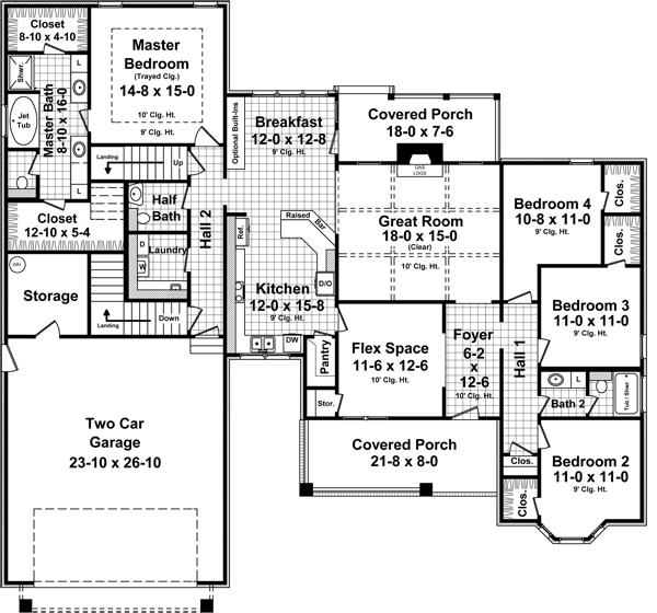 141-1249: Floor Plan Main Level