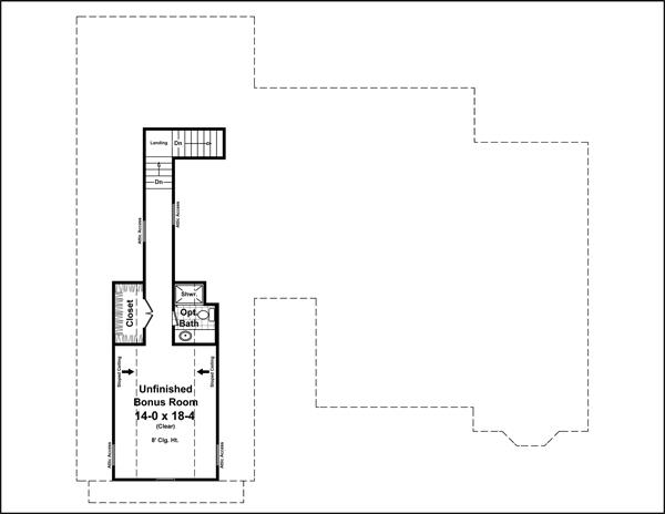 141-1249: Floor Plan Bonus Room