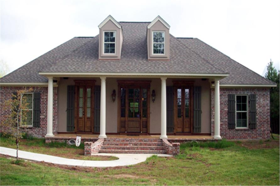 Home Exterior Photograph of this 3-Bedroom,1641 Sq Ft Plan -141-1259