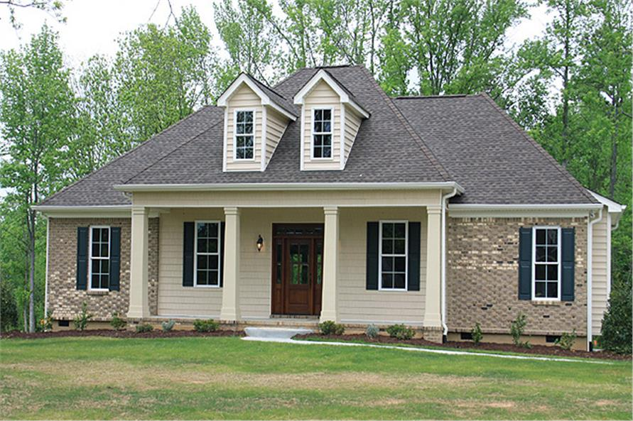 country house plans with traditional american styles - Country Home Plans