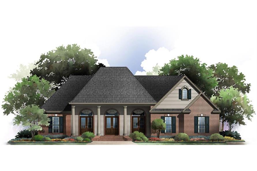 141-1274: Home Plan Rendering