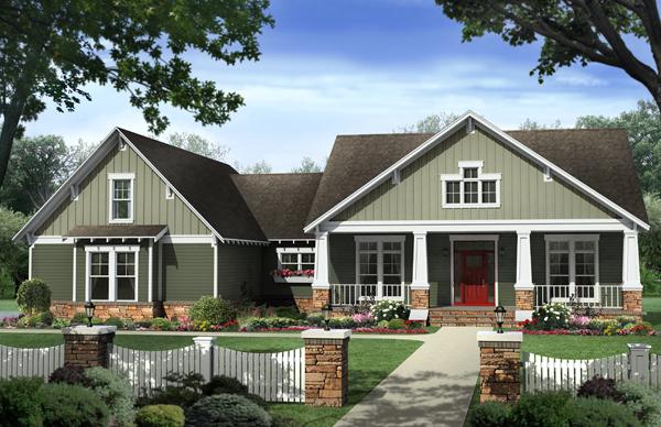 Craftsman House Plan 141 1277 4 Bedrm 2233 Sq Ft Home