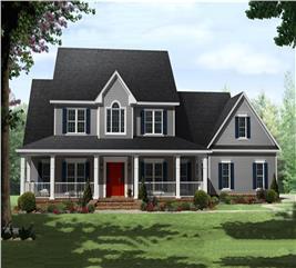 House Plan #141-1287