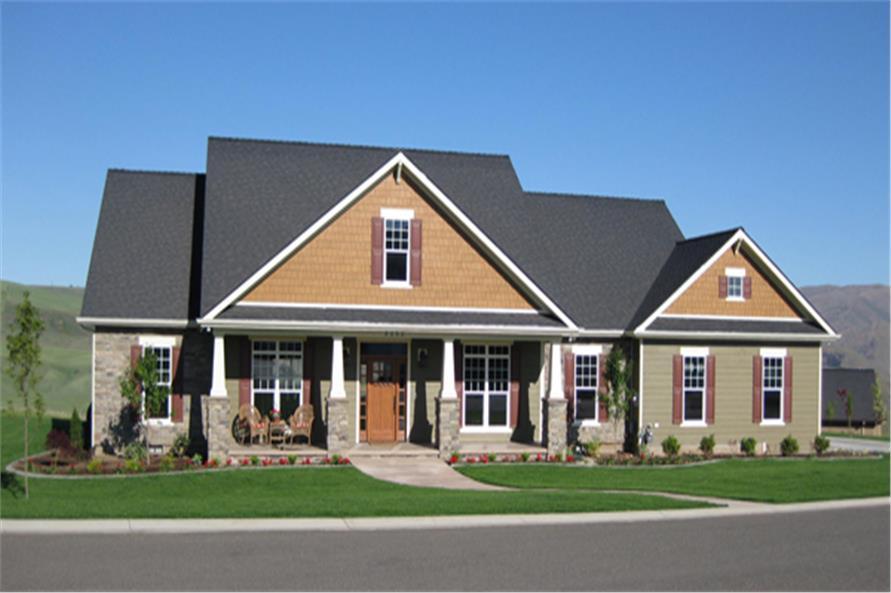 Craftsman House Plan 141 1290 4 Bedrm 2789 Sq Ft Home