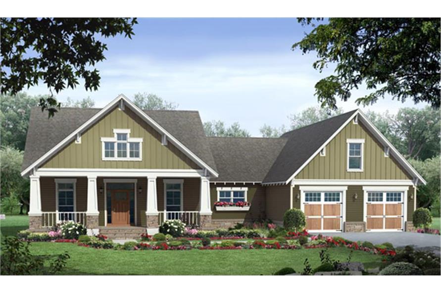 141-1291: Home Plan Rendering