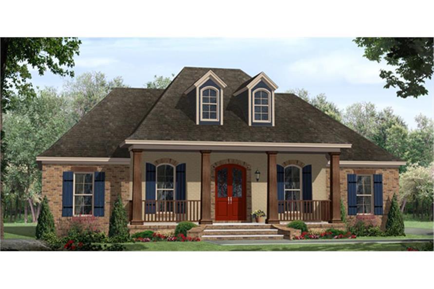 141-1296: Home Plan Rendering
