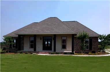 3-Bedroom, 1658 Sq Ft Country House Plan - 141-1297 - Front Exterior
