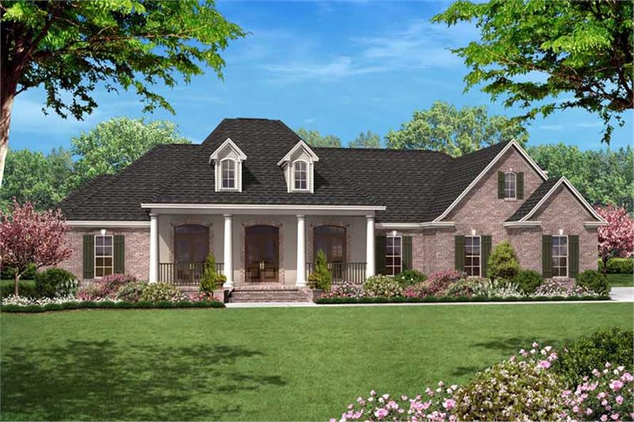 Main image for house plan # 20620