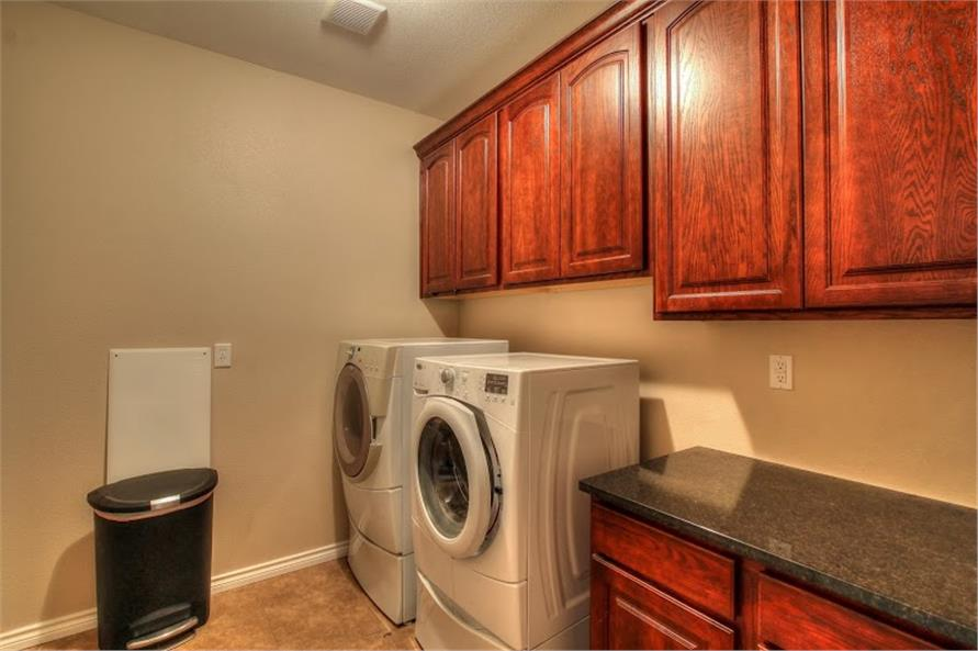 Laundry Room of this 3-Bedroom,1750 Sq Ft Plan -1750
