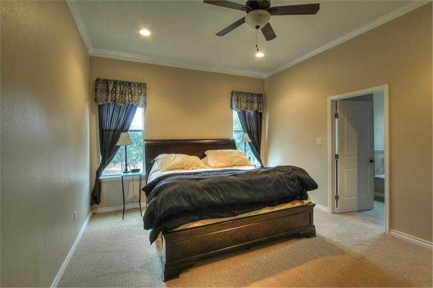 Master Bedroom of this 3-Bedroom,1750 Sq Ft Plan -1750