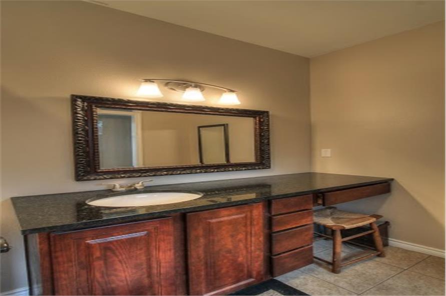 142-1002: Home Interior Photograph-Master Bathroom