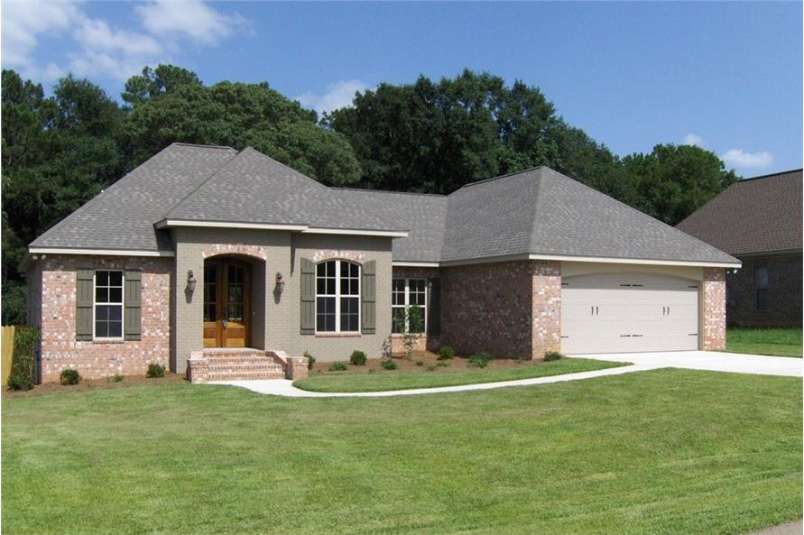 Color photo Acadian House Plan #142-1002.