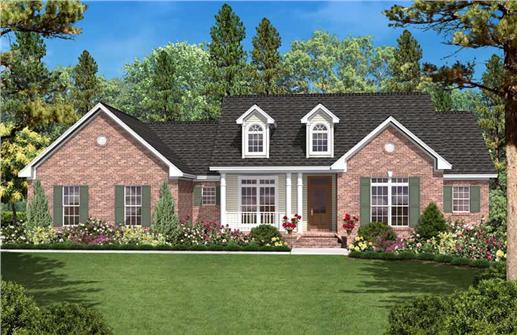 Main image for house plan # 20624