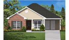 This is a computer rendering of these Traditional Small Homeplans.