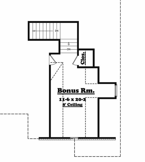 Bonus Floor Plan BB-2500-2