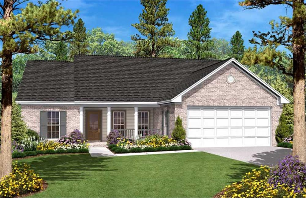Main image for house plan # 20611