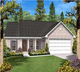 House Plan #142-1008