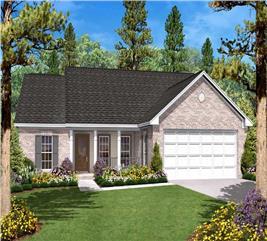 House Plan #142-1008