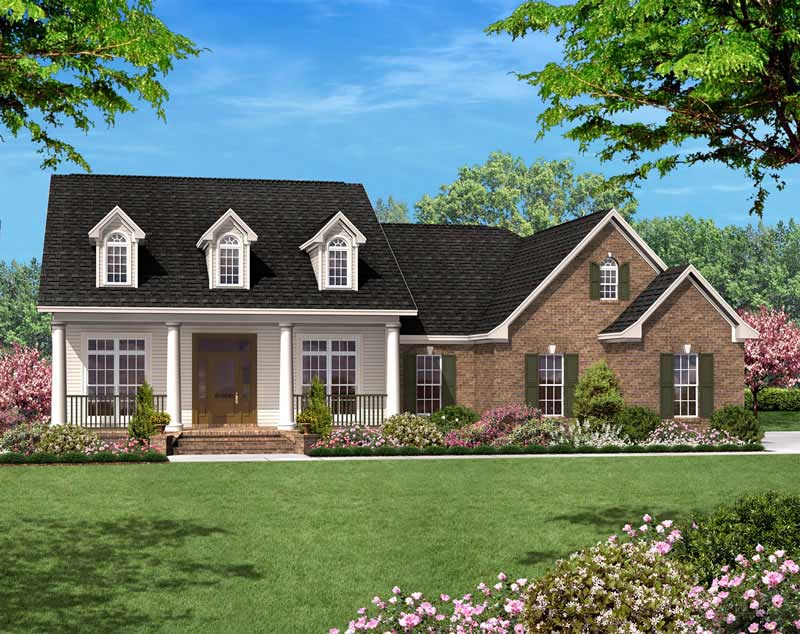 3 Bedrm 1500 Sq Ft Country House Plan 142 1010