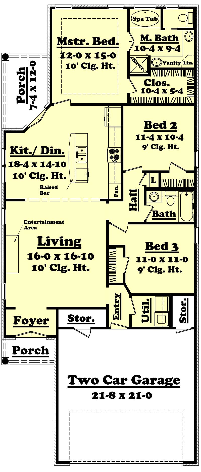 Small house plans home design 1400 5 Story floor plans with garage collection
