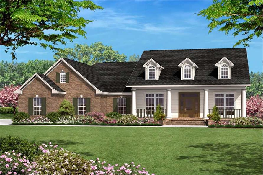 Main image for house plan # 20616