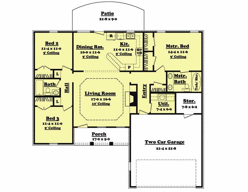 Tiny Home Designs: Traditional, Country, Ranch House Plans