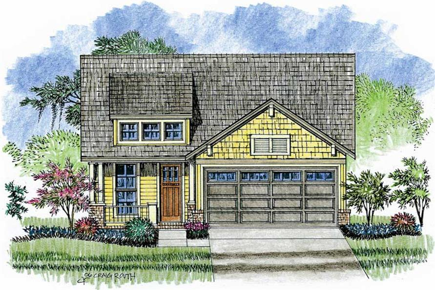 3 bedrm 1700 sq ft craftsman house plan 142 1019 for 1700 square foot craftsman house plans