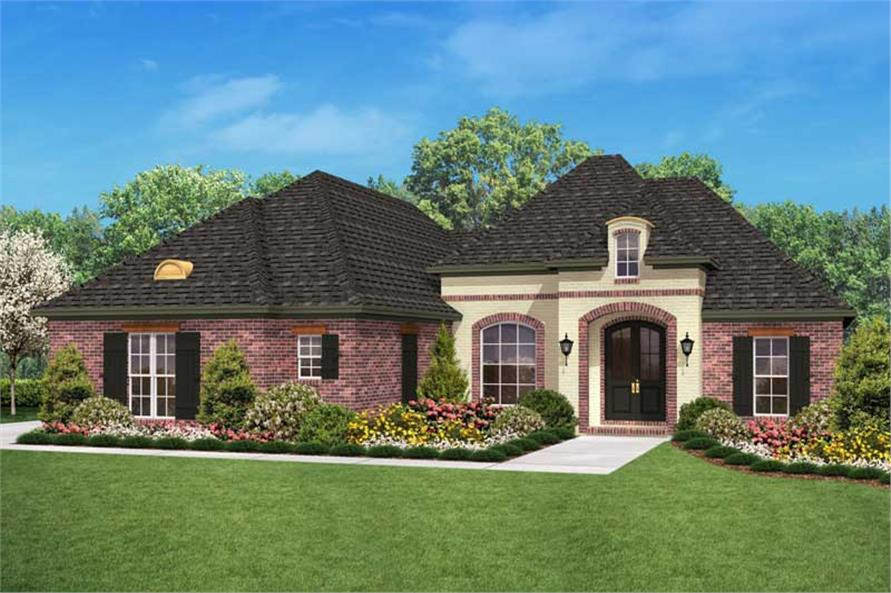 3 Bedrm 1800 Sq Ft Country House Plan 142 1023