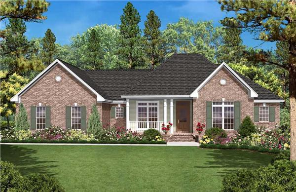 Main image for house plan # 20622
