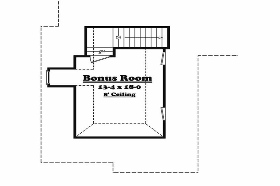 Home Plan Other Image of this 3-Bedroom,2300 Sq Ft Plan -142-1027