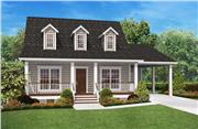 View house Plan#142-1036