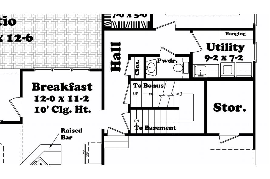 Home Plan Other Image of this 4-Bedroom,2250 Sq Ft Plan -142-1040