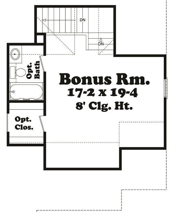 142-1040 optional bonus room