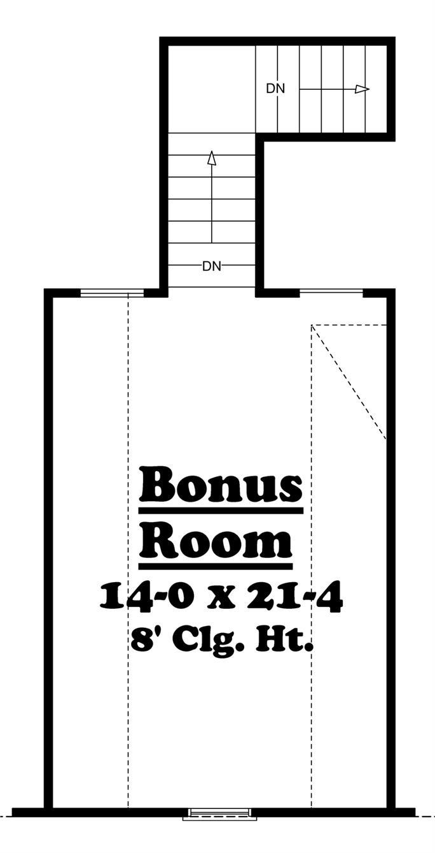 country southern home with 3 bdrm 2100 sq ft house plan 142 1042 floor plan bonus room 142 1042 bonus level