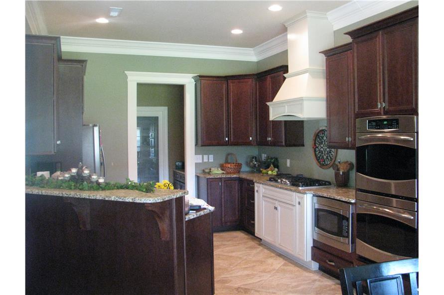 Kitchen of this 3-Bedroom,2100 Sq Ft Plan -2100