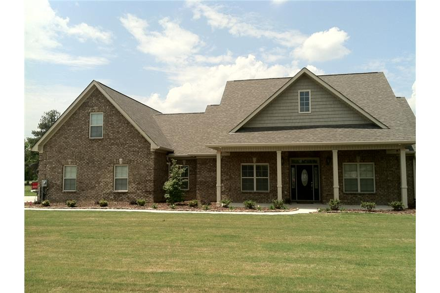 Home Exterior Photograph of this 3-Bedroom,2100 Sq Ft Plan -142-1042
