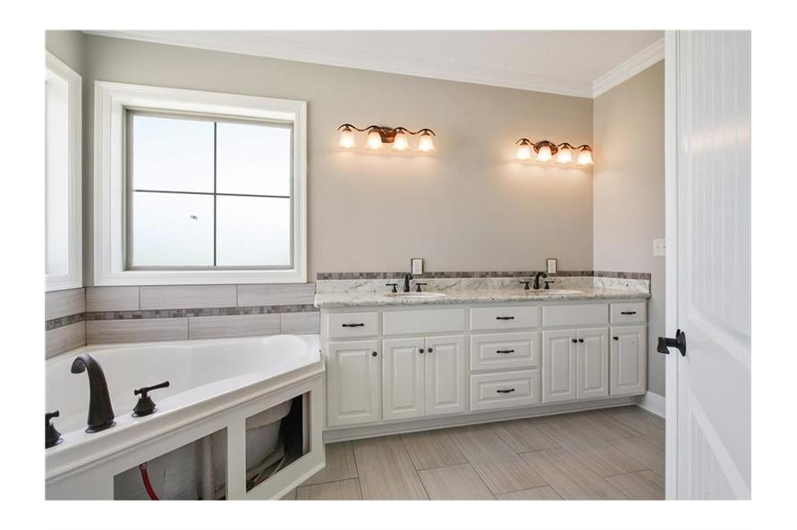 Master Bathroom of this 3-Bedroom,1800 Sq Ft Plan -1800