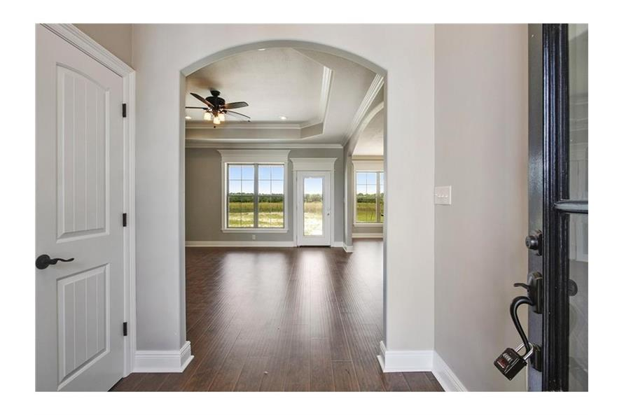 Entry Hall: Foyer of this 3-Bedroom,1800 Sq Ft Plan -1800