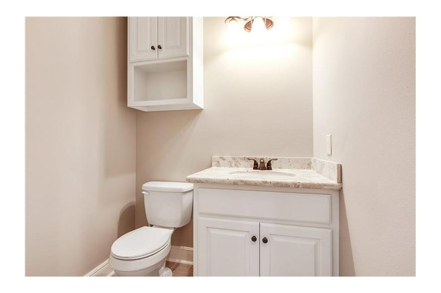 Powder Room of this 3-Bedroom,1800 Sq Ft Plan -1800