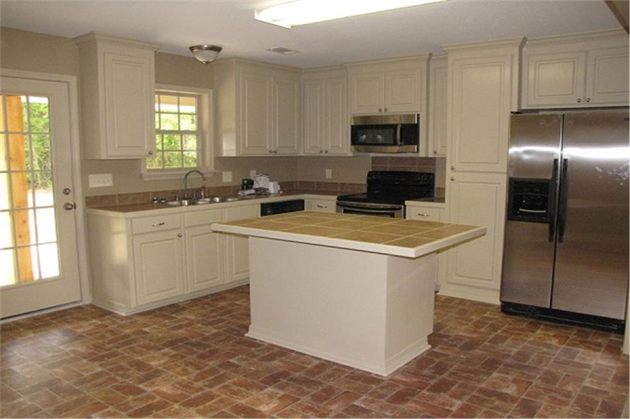 Kitchen of this 3-Bedroom,1300 Sq Ft Plan -1300