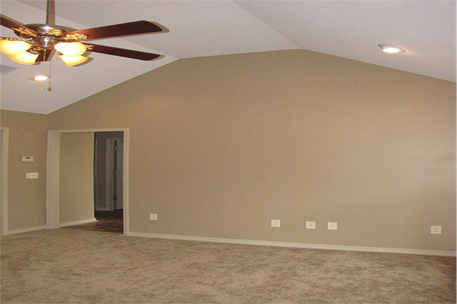 Living Room of this 3-Bedroom,1300 Sq Ft Plan -1300