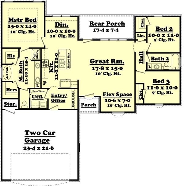 Kitchen plans with dimensions on kitchen island floor plan dimensions