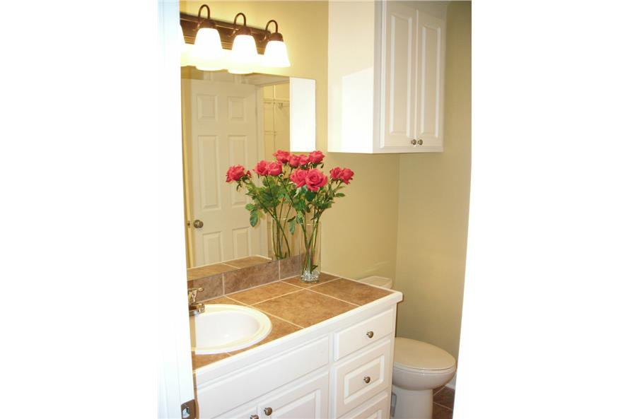 Master Bathroom of this 3-Bedroom,1200 Sq Ft Plan -1200