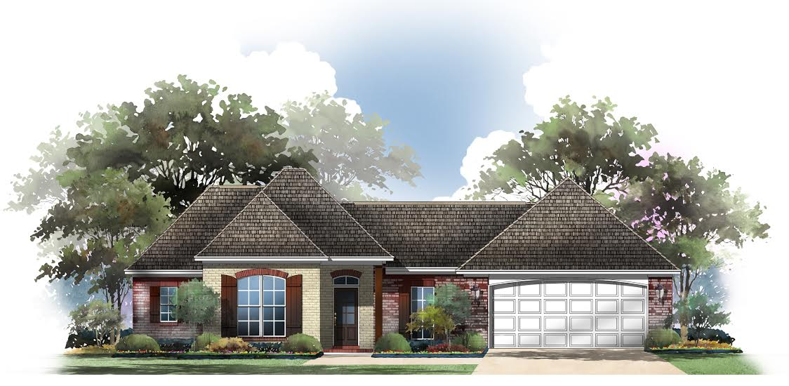 House plan 142 1056 3 bdrm 1 500 sq ft acadian home for 2 story acadian house plans